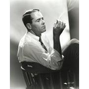 Henry Fonda sitting Side Ways and Smoking Photo Print by Movie Star News/Globe Photos LLC