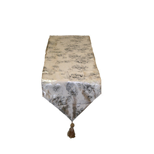 Violet Linen Silky Heritage Table Runner
