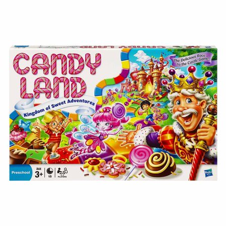 Candy Land Game The Kingdom Of Sweet Adventures Walmart
