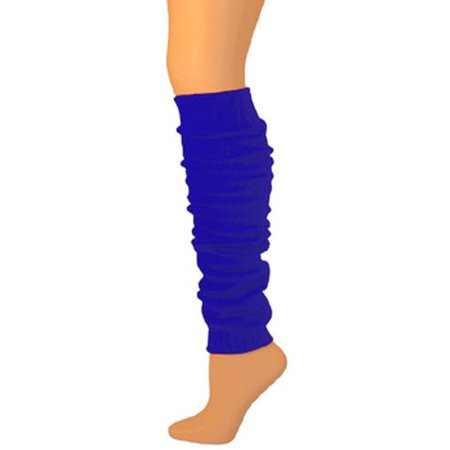 Leg Warmers, Solid Heavy Weight - Royal Blue (23