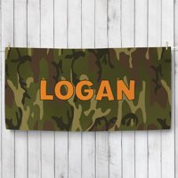Personalized Camo Towel