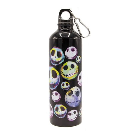 Nightmare Before Christmas Colorful 25 oz Aluminum Bottle - Halloween Wine Bottles