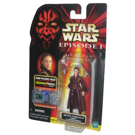 Star Wars Episode I Queen Amidala Naboo Commtech Chip Action Figure (Queen Amidala Star Wars)