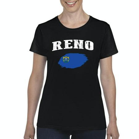Reno Nevada Womens Shirts (Women In Reno)