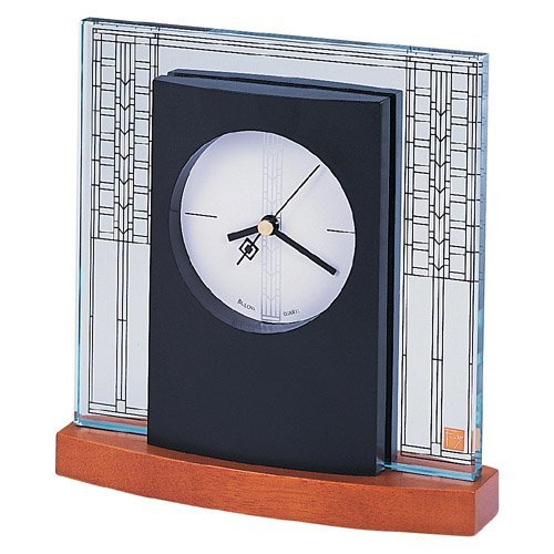 Frank Lloyd Wright Collection - Glasner House Tabletop Clock by Bulova