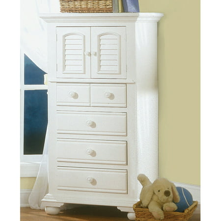 Admirable American Woodcrafters Cottage Traditions 4 Drawer Lingerie Chest Eggshell White Best Image Libraries Counlowcountryjoecom