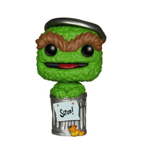 POP TV: Sesame Street Oscar the Grouch Action Figure, TV Snuffleupagus Friends Elmo 48907 Orange mouse Funko pad Super Trading Street Ernie Cookie EE.., By FunKo for $<!---->