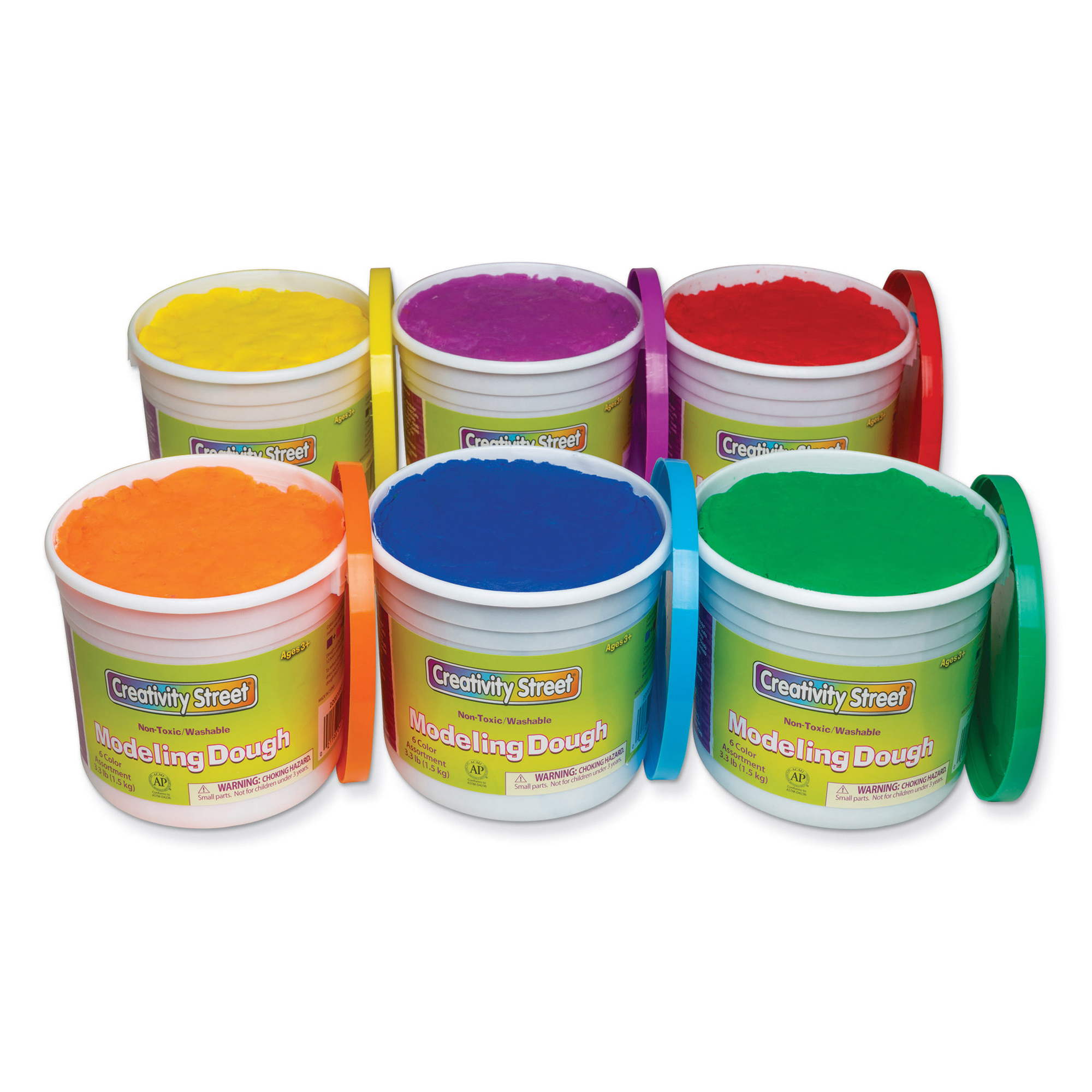 Creativity Street® Modeling Dough, 6 Assorted Colors