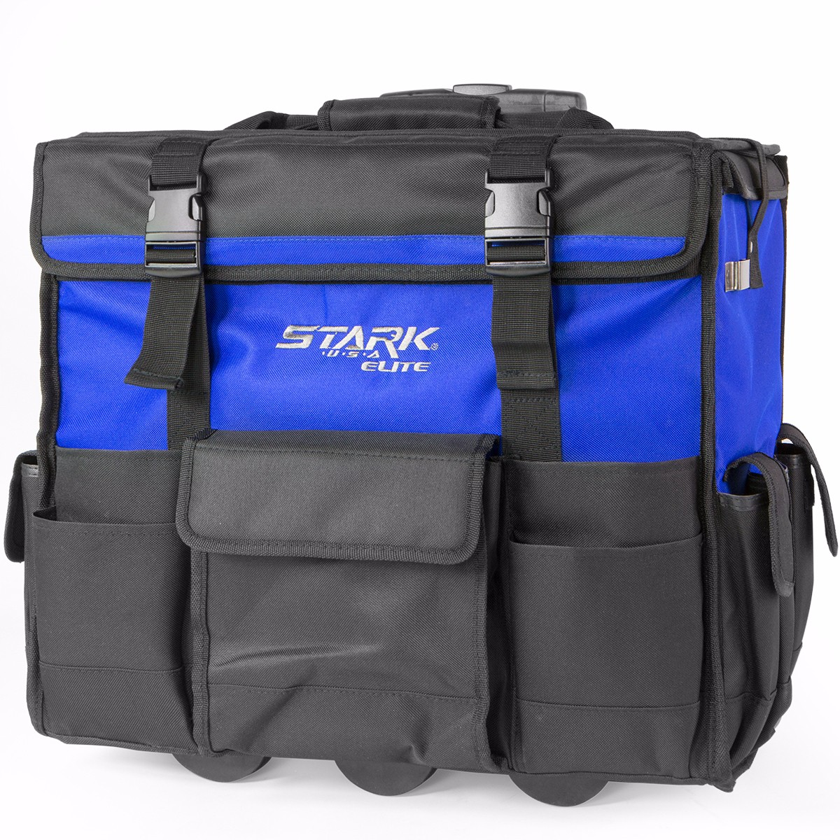 STKUSA 20 inch Wide Mouth Rolling Tool Bag W  Divider by Stark