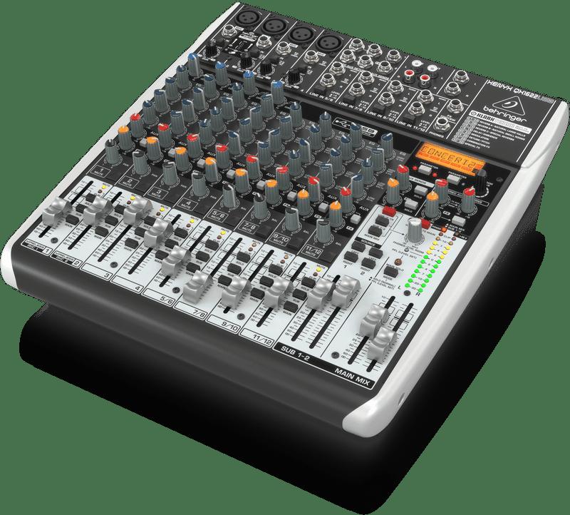 Behringer Qx1622usb 16 Input 2 2 Bus Usb Audio Interface