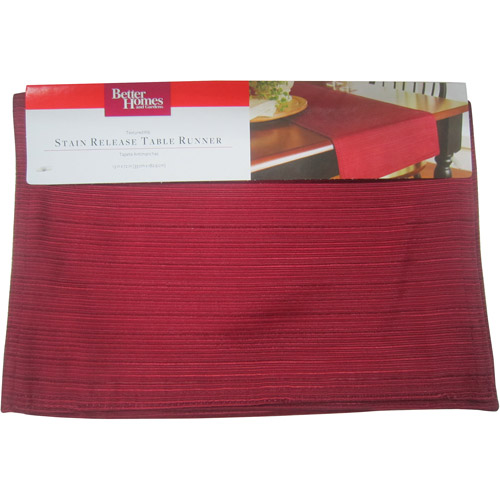 Better Homes and Gardens Stain Release Table Runner