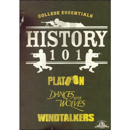 History 101 Gift Set: Platoon / Dances With Wolves / Windtalkers