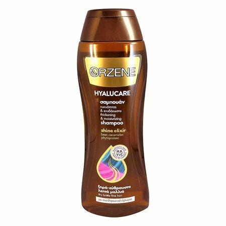 Orzene Hyalucare Shine Elixir Shampoo for Dry-Brittle-Fine Hair 400ml 13.5oz