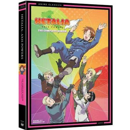 Hetalia: Axis Powers - The Complete Series (Widescreen) - Japan Hetalia Halloween