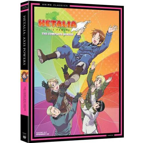 Hetalia: Axis Powers - The Complete Series (Widescreen)