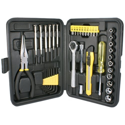 QVS 41-Piece Technician's Tool Kit (Black)