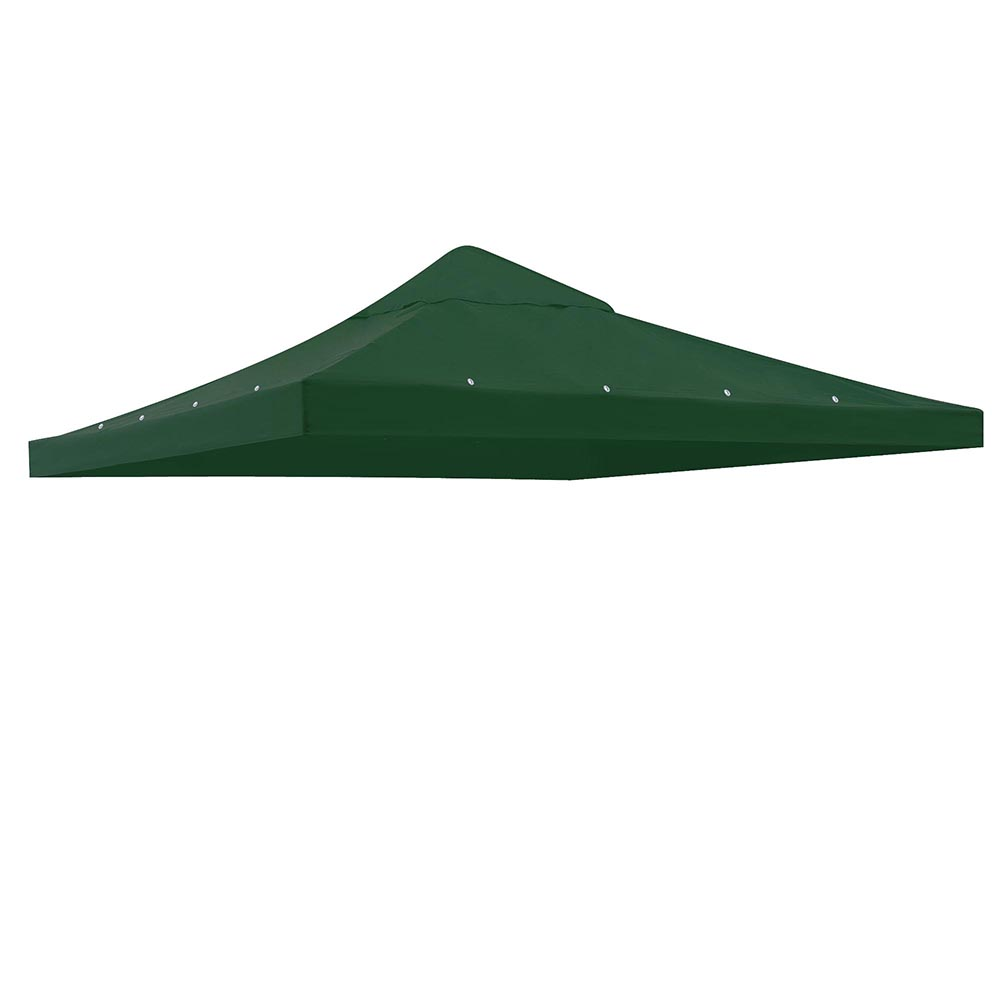 Yescom 1 Tier 9.76'x9.76' Gazebo Canopy Top Replacement Patio Cover Garden Outdoor