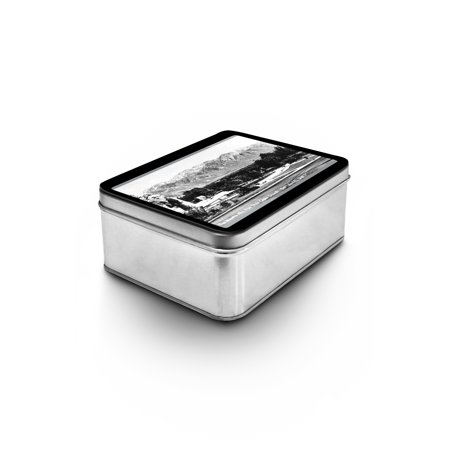 Salt Lake City  Utah   View Of The Wasatch Mountains From The Capitol Grounds  Keepsake Tin
