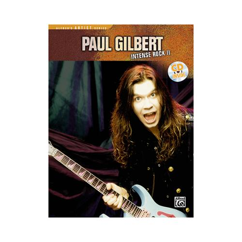 Alfred Paul Gilbert Intense Rock II (Book and CD)