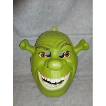 Shrek Costume (Shrek PVC Mask Ogre 1 2 3 The Third Forever After Full Face Adult Green)