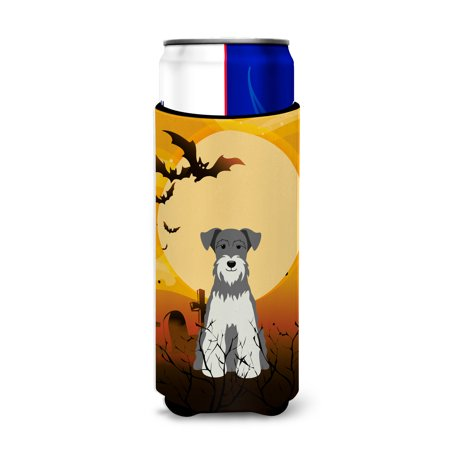 Halloween Miniature Schanuzer Salt and Pepper Michelob Ultra Hugger for slim cans BB4320MUK - Salt And Pepper Dog Halloween Costumes