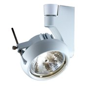 Jesco Lighting HLV270A11175 Silver 1 Light Halogen Contempo Series Track Head