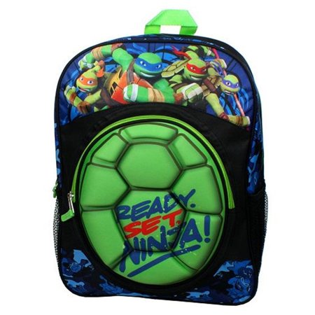 Ninja Turtle Backpack (B16TM28262-TU Teenage Mutant Ninja Turtles Molded Shell)
