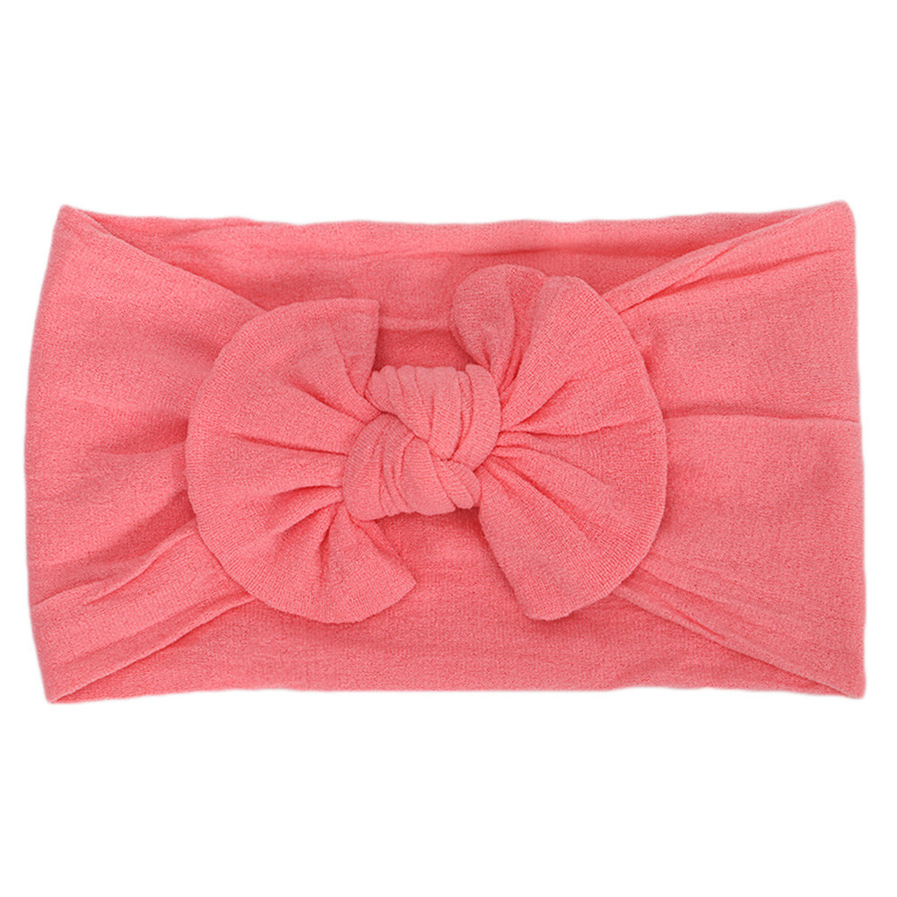 Outtop 1Pc Cute Baby Toddler Infant Bowknot Headband Hairband Headwear