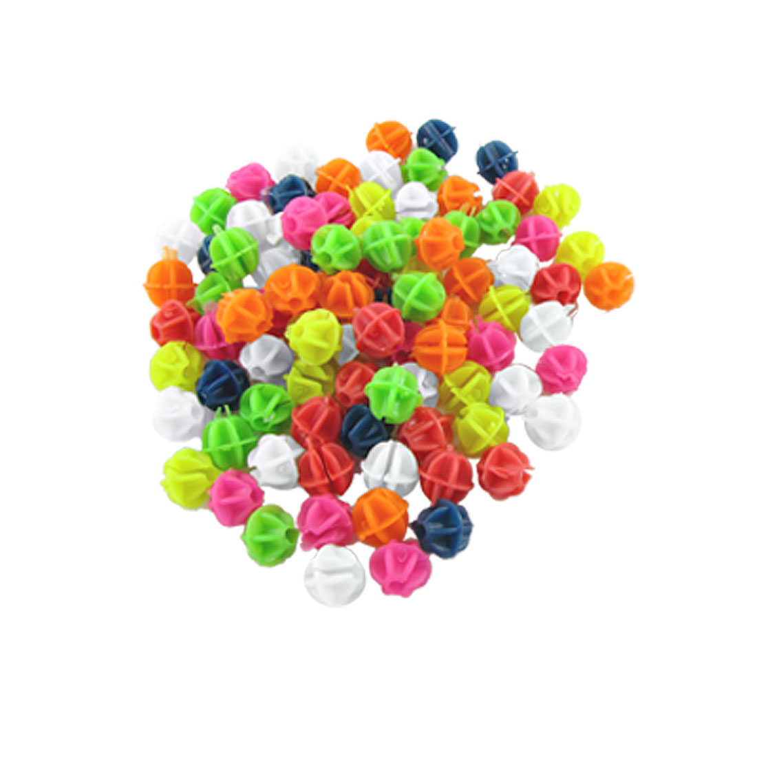 CHICTRY 2 Pack Colorful Bike Bicycle Wheel Spoke Beads Plastic Clip Luminous Spoke Beads Bicycle Beads Wire Beads Decorations with Storage Bag Kids Gift