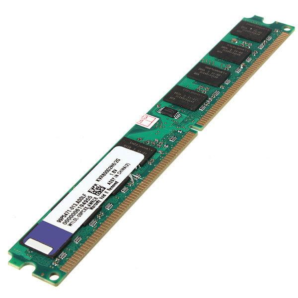 2GB PC6400 DDR2-800MHz PC2-6400 240PIN DIMM Memory AMD Motherboard Desktop Chip