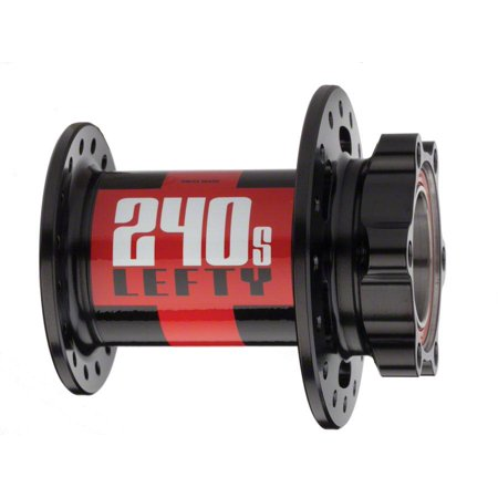 DT Swiss 240S Front Hub: 32h, LEFTY, 6-Bolt Disc