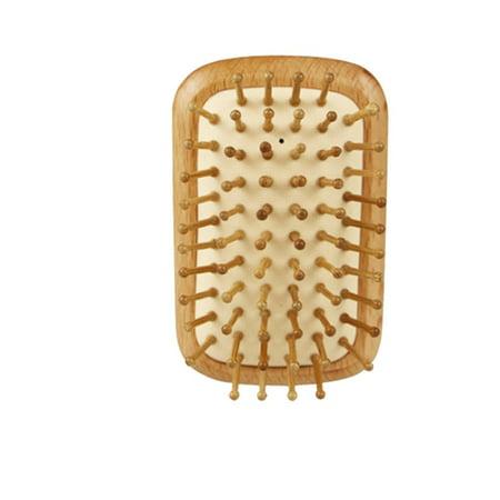 Airbag Massage Comb Portable Head Massage Anti-static Wood Comb Fluffy Comb - image 1 de 6