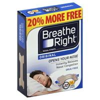 GlaxoSmithKline Breathe Right  Nasal Strips, 36 ea