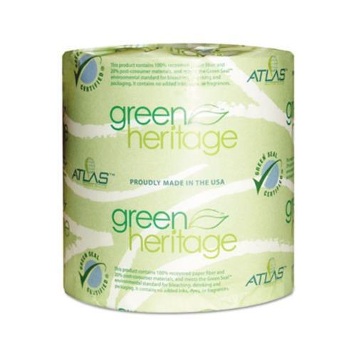 Atlas Paper Mills Green Heritage Bathroom Tissue APM250GREEN