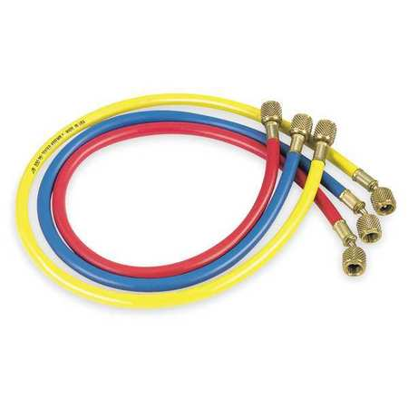 Jb Industries CCLS-60 60 In Manifold Hose Set, Low Loss, Red