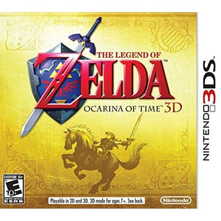 The Legend of Zelda Ocarina of Time 3D, Nintendo, Nintendo 3DS, [Digital Download], (Legend Of Zelda Ocarina Of Time 3ds Guide)