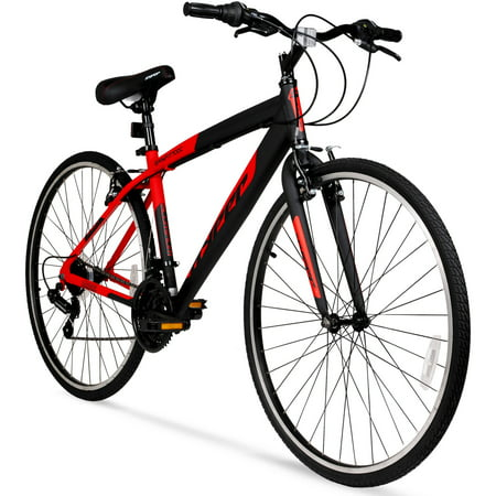 Hyper 700c Men's SpinFit Hybrid Bike (Diamondback Womens 2016 Vital 1 700c Hybrid Bike)
