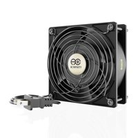 AC Infinity AXIAL LS1238, Quiet Muffin Fan, 120V AC 120mm x 38mm Low Speed, for DIY Cooling Ventilation Exhaust Projects