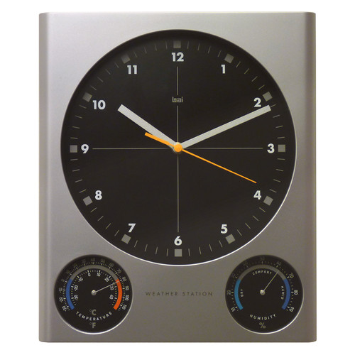 Bai Design Tank Weather Station Wall Clock
