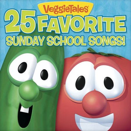 25 Favorite Sunday School Songs (CD) Birthday Party Songs Cd