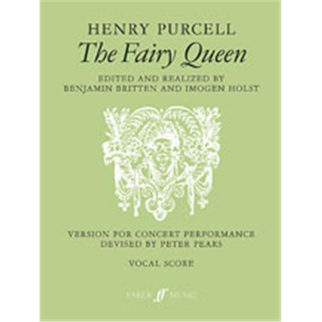 Alfred 12-0571501222 The Fairy Queen - Music Book