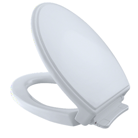 Stupendous Toto Traditional Softclose Non Slamming Slow Close Elongated Toilet Seat And Lid Cotton White Ss15401 Pabps2019 Chair Design Images Pabps2019Com