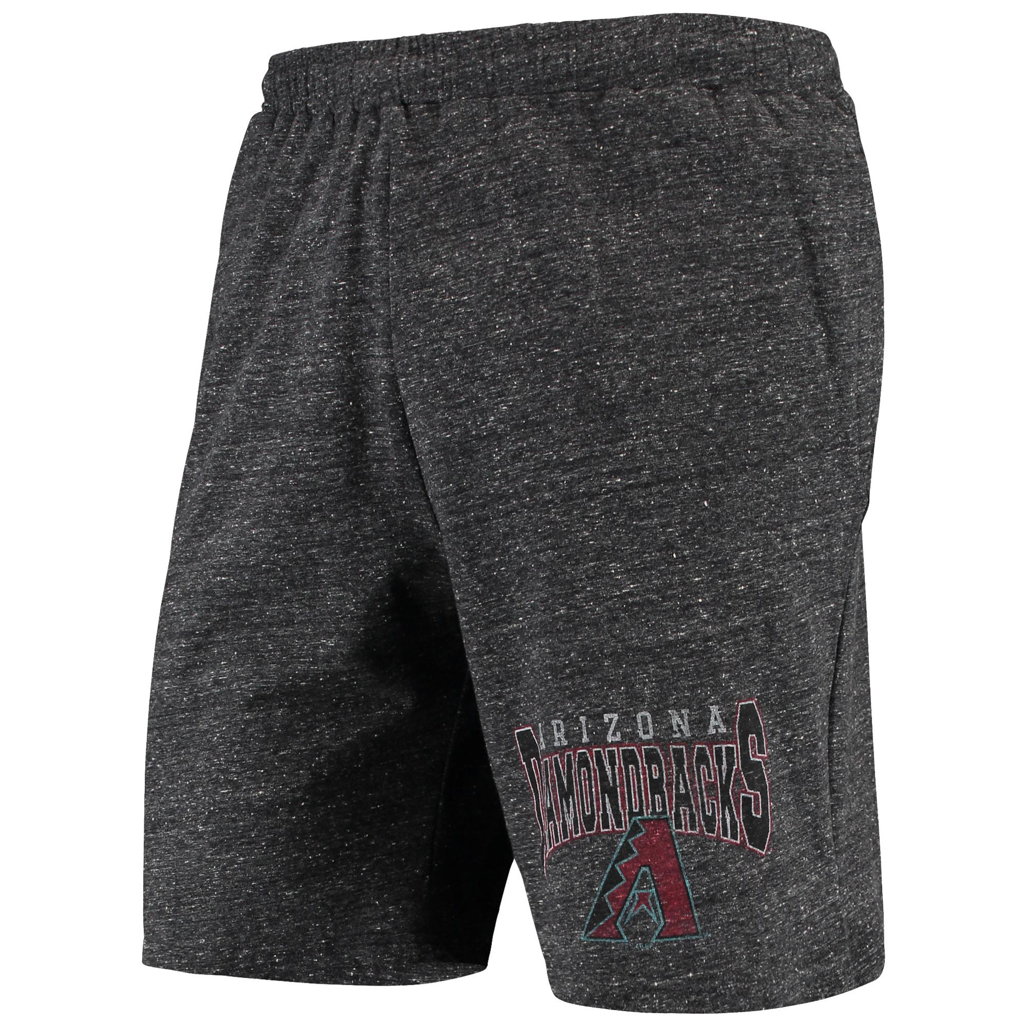 Arizona Diamondbacks Concepts Sport Pitch Shorts - Charcoal