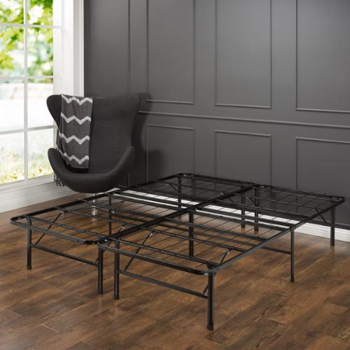 Priage  SmartBase Steel Platform Queen Bed Frame