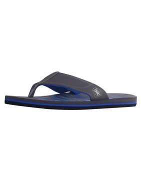9913f257135d Product Image Men s Athletic Strap Poolside Casual Beach Flip Flop Sandals