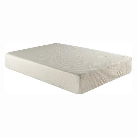 Atlantic Furniture CoolSoft Glendale 7 in. Gel Memory Foam Mattress ()