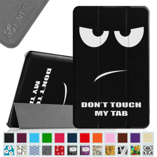 For Samsung Galaxy Tab E 9.6 / Samsung Tab E Nook 9.6 Tablet Case - Fintie Slim Lightweight Stand Cover, Dont Touch