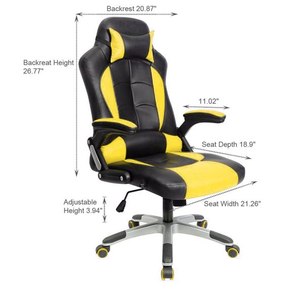 Gaming Chair High Back Computer Chair Ergonomic Design Racing Chair