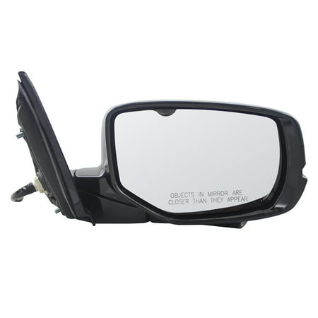 Passengers Power Side View Mirror Heated Signal w/ Camera Replacement for 13-17 Honda Accord 76200T2GA42ZC