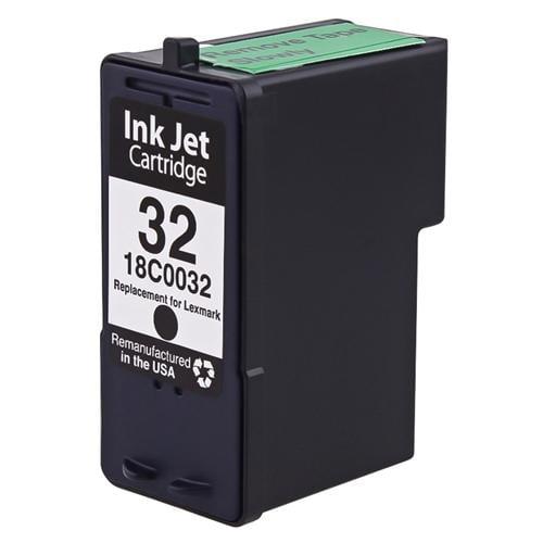INSTEN Remanufactured For Lexmark 32 (18C0032) Ink Cartridge, Black